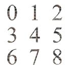 0から9までの数字の画像