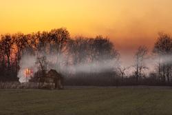 火事の画像