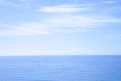 穏やかな海の画像