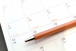 カレンダーの夢を見たときの夢占い・夢診断