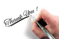 お礼を言う・感謝する夢を見たときの夢占い・夢診断